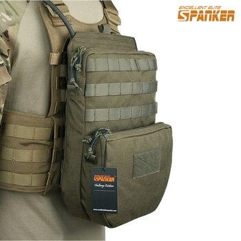 EXCELLENT ELITE SPANKER Tactical Hydration Bag Hunting Combat Vest Hydration Pouch Camo Bags Outdoor Vest Equipment Pouch german elite m42 ss oak leaves camo hunting smock de 505134