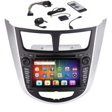 7 inch Android 4.2 2 Din In Dash Capacitive HD Touch Screen Car DVD Player GPS Navigation AM/FM Stereo Radio Receiver For Hyunda