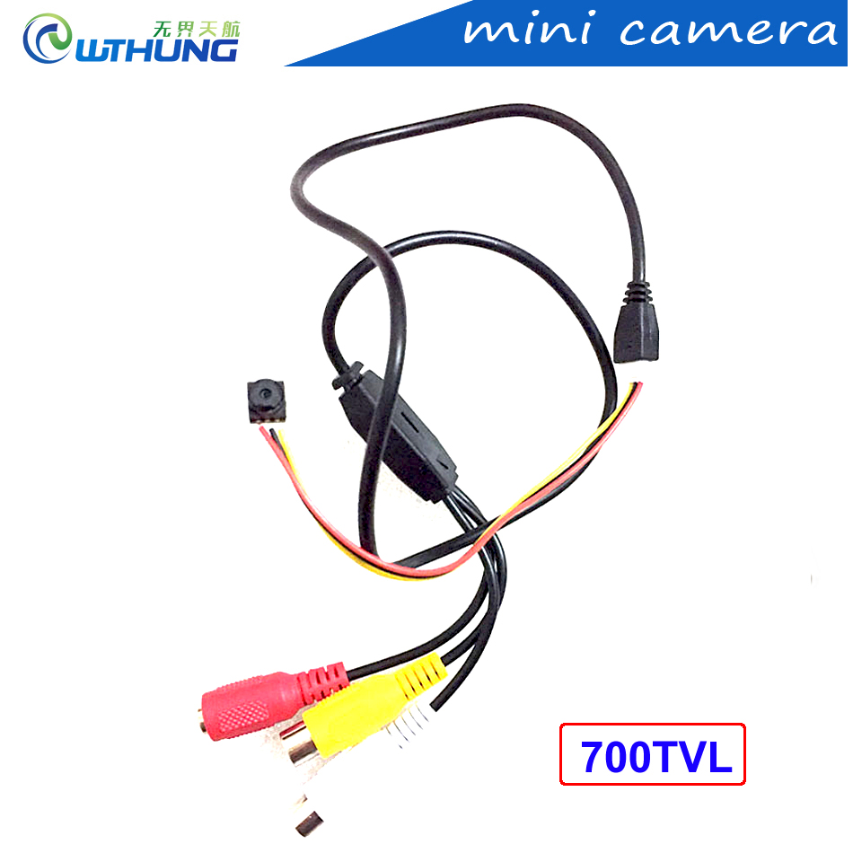 Mini Camera 8*8mm Super Small 700TVL 3.7mm lens color video HD Tiny For Home Security CCTV Pin Hole Camera security camera smallest hd cctv mini camera 800tvl cmos small 6 5mm 6 5mm 12 12 super small camera for home security have cable