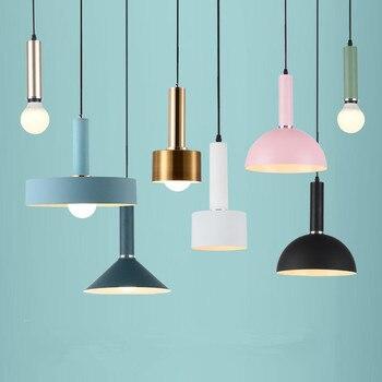 Moderno LED E27 lámpara novedad loft iluminación nórdica lámparas de ...