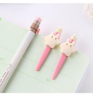 Image 4 - 50 個かわいい自動鉛筆ロットかわいいスターシャープペンシルキッズスクール事務所書き込み用品キャンディーカラー韓国鉛筆