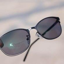 eb5ee5170b Sun lectores Bifocal fotosensibles Lectura Gafas De sol hombres mujeres  dioptría vidrio De Lectura Gafas De Lectura + 1,0 ~ 3,0
