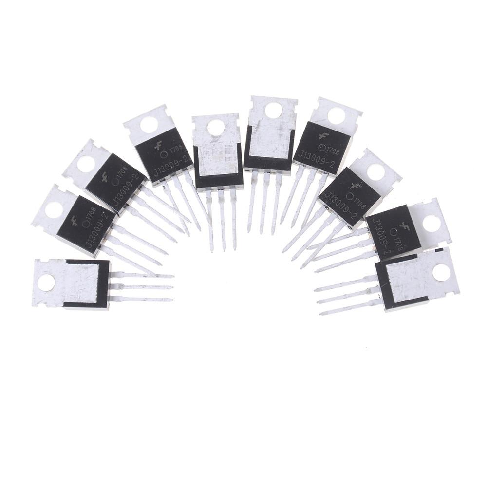 10pcs Transistor J13009-2 E13009-2 E13009 TO-220 Triode Switch Accessories Wholesale
