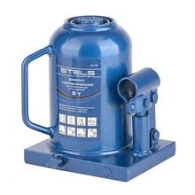 Домкрат гидравлический STELS 51118 (Грузоподъемность 8 т, бутылочный, высота подхвата 17 см, высота подъема 43 см)