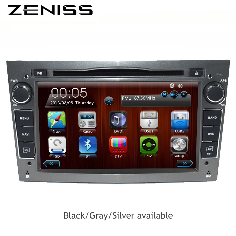 Free shipping Universal 2din font b car b font dvd player for Opel Astra Vectra Antara