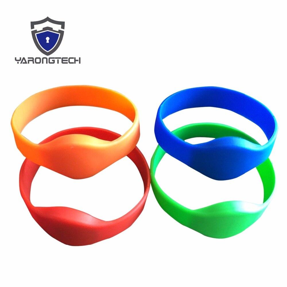 HF RFID tags/autocollants/incrustations Bracelet En Silicone