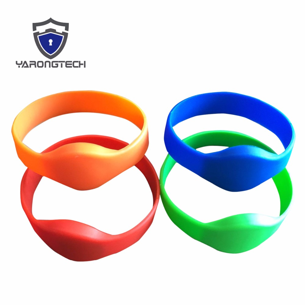 eco friendly 125khz EM4100 colors ISO Waterproof silicone id wristband,rfid bracelet,rfid wristband