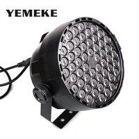 DMX Led Par Lamp 54w RGB LED Stage Par Light 54LEDs Wash Dimming Strobe Lighting Effect