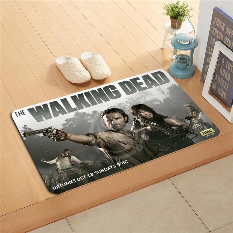 Wu81 Custom The Walking Dead 001 Season Doormat Home Decor Door Rhaliexpress: Walking Dead Home Decor At Home Improvement Advice