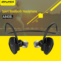 Awei A840BL Wireless Sports Headphones Bluetooth 4 Sweatproof For IPhone Android Mp3 Mp4 IPad IPod With