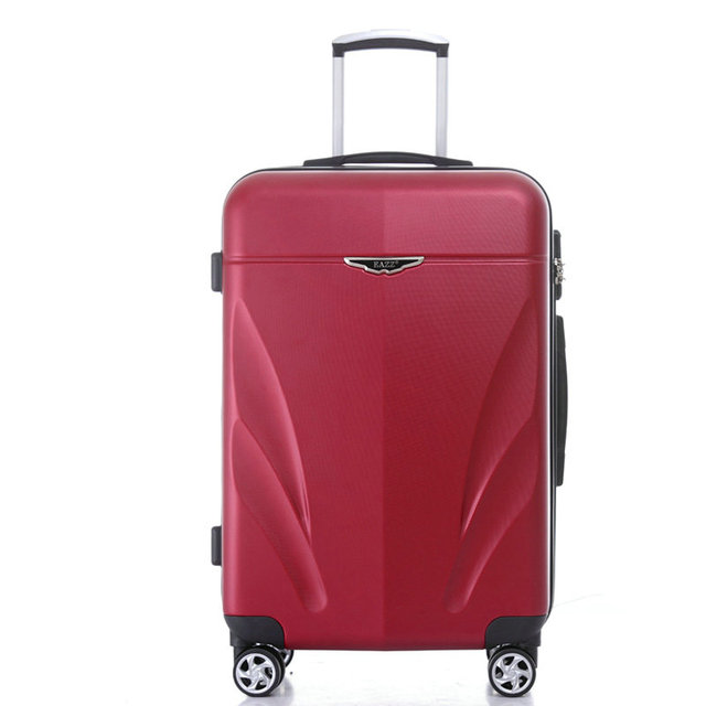 """New Spinner Rolling Luggage Scratch-Resistant ABS,Mute Wheel, Men and Women Travel Suitcase 20"""" 24"""" 26"""" Trolley Luggage Bag"""
