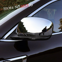 Chrome Style! Auto Side Rearview Mirror Cover Trim ABS Sticker Accessiores For Renault Kadjar 2015 2016 2017 Car Styling