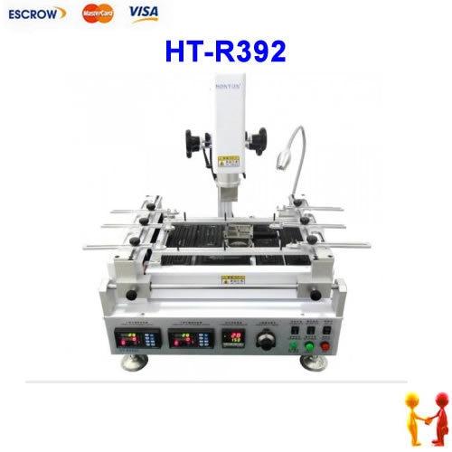 High quality ! HONTON HT-R392 Infrared & hot air BGA rework station, HT R392 soldering machine  цены
