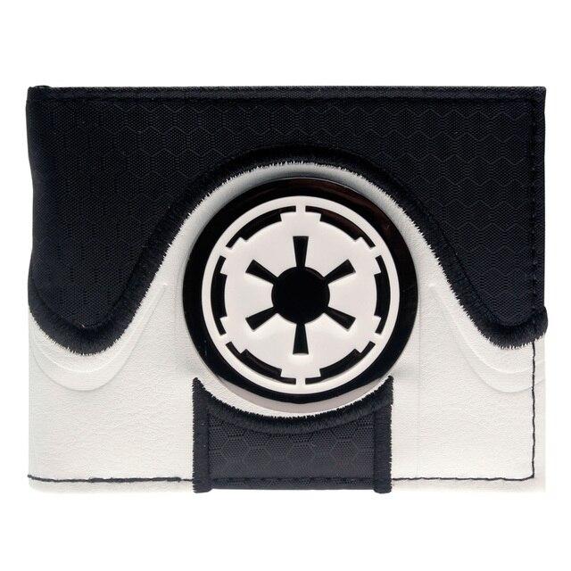Кошелек Звездные войны черно-белый дизайн