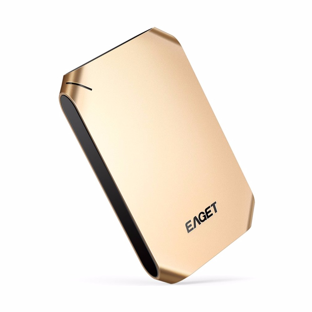 EAGET External Hard Drive 500GB 1TB High Speed USB 3.0 Hard Disk Shockproof Encryption Mobile HDD For Desktop Laptop