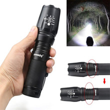 Zoomable Cycling Bicycle Front Head Flashlight 4000LM 5 Modes Q5 LED High Power Torch Lamp Portable Light Bike Accessories