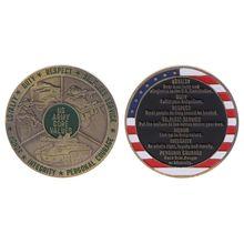 Армия честь значение памятная монета ручной работы сплав ремесла Коллекция монет сувениры