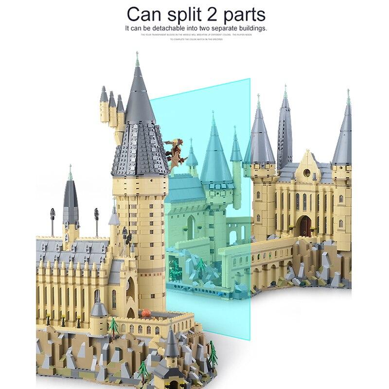 2018 Lepin 16060 Harry Potter Magique Poudlard Château Compatible Legoing 71043 blocs de construction Briques Enfants jouets éducatifs bricolage - 3