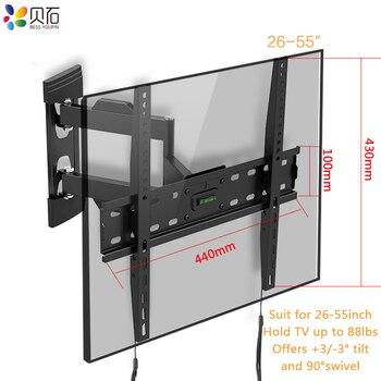 Full Motion Tv Wand Halterung Swivel Tilt Tv Rahmen Montieren
