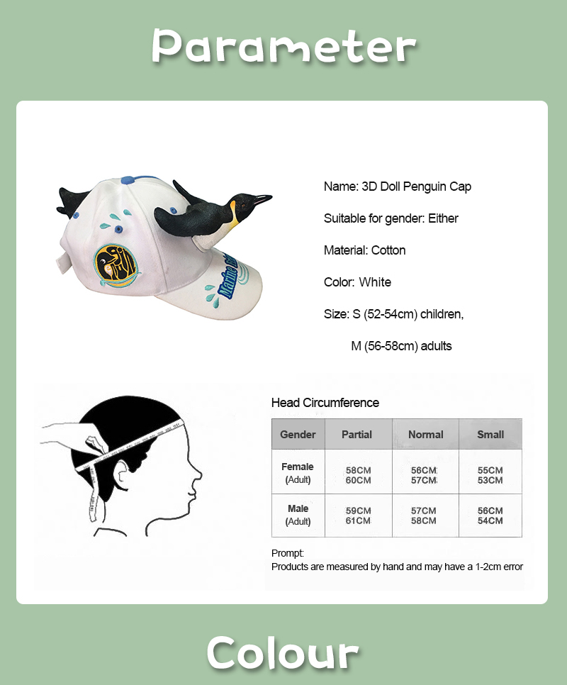 75e5fcfe 2019 New Fashion 3D Cute Penguin Hat Cartoon Baseball Caps Men And Women  Christmas Gift Dad Haps White Blue Color Visor Cap. _01 _02 _03 _04 ...