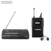 Excessive High quality New TAKSTAR wpm-200 In Ear Skilled Stage Wi-fi Monitor System receiver transmitter with earphone