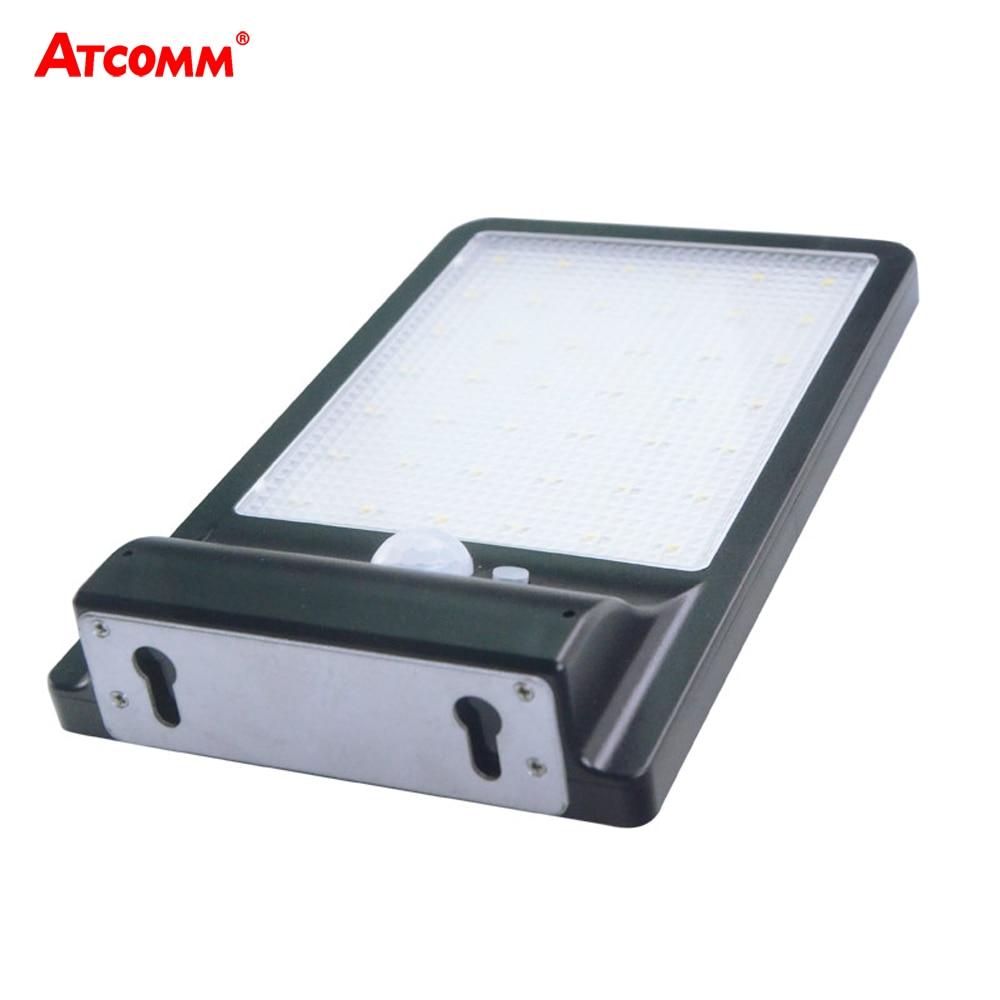 800 Lumen LED Solar Lamp 42 LEDs SMD 2835 4 Modes With Motion Sensor Waterproof IP65 LED Solar Light Outdoor Garage <font><b>Lighting</b></font>