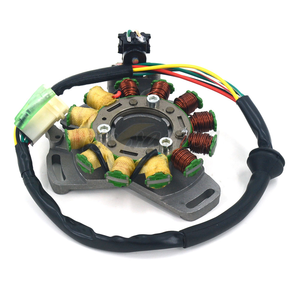 Motorcycle Magneto Engine Stator Generator Charging Coil