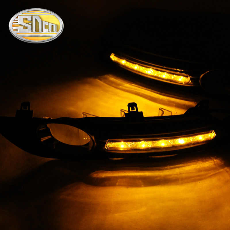 SNCN 2 шт. светодиодный фонарь дневного света для Nissan Sentra 2013 2014 2015 автомобильные аксессуары Водонепроницаемый ABS 12 В DRL Противотуманные фары украшения