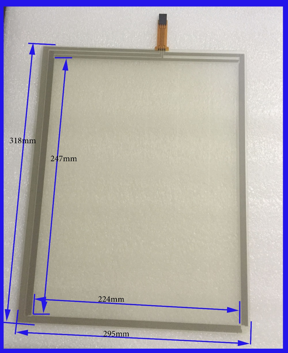 ZhiYuSun 318mm*247mm 14 Inch Touch Screen panels 4 wire resistive USB touch panel overlay kit  Free Shipping zhiyusun new 10 4 inch touch screen 4 wire resistive usb touch panel overlay kit free shipping 225 173