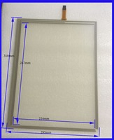 ZhiYuSun 318mm*247mm 14 Inch Touch Screen panels 4 wire resistive USB touch panel overlay kit Free Shipping