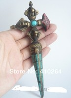 Shipping Chinese Bronze Dragon Boat Sailboat Sculpture Statue