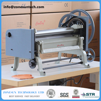 8020 Automatic Leather Paring Machine Leather Skiver Peel Tools Vegetable Tanned Electric Leather Splitter Max 50cm