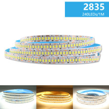 DC 12 V LED רצועת אור SMD 2835 Waterproof LED רצועת AC 220V 5m 60 נוריות 120 נוריות 240 נוריות 12 V מנורת קלטת גמיש קלטת מנורת סרט