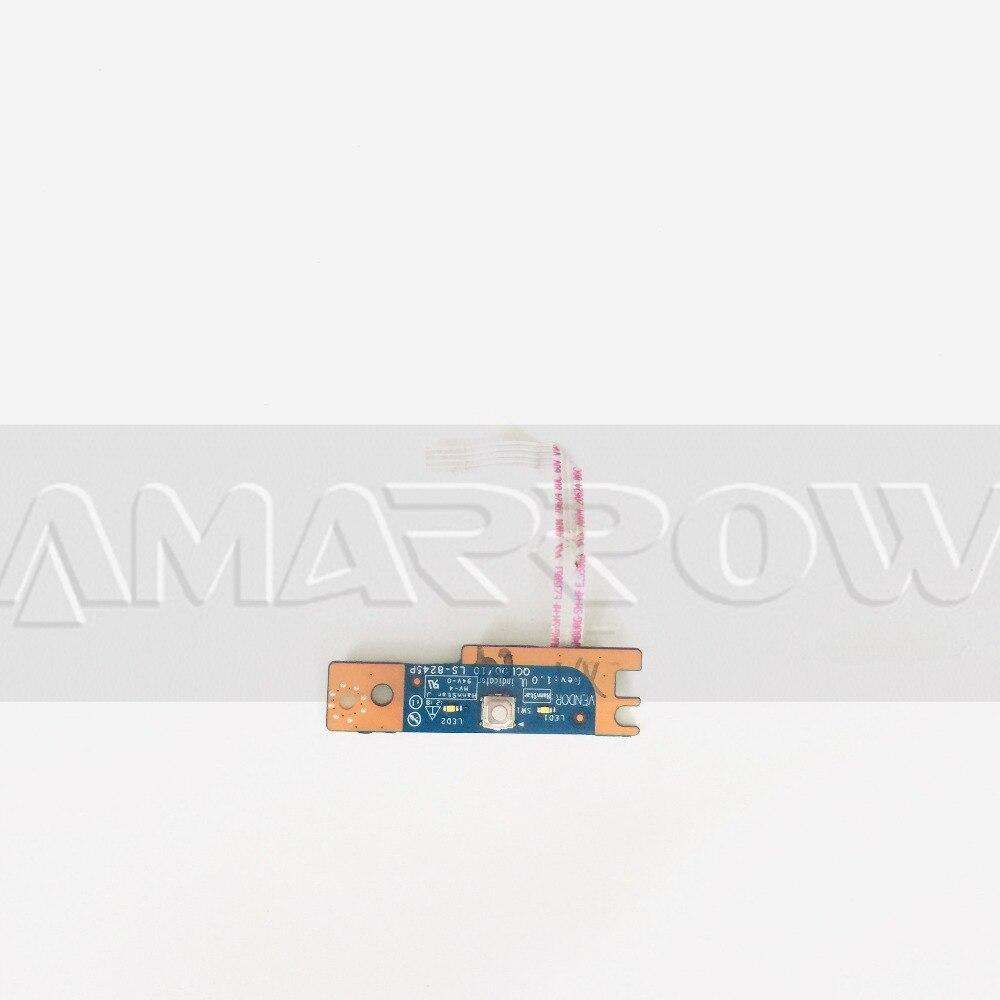 Original Free Shipping For DELL 5520 7520 Power Button Board Switch Board LS-8245P