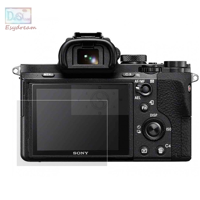 Protective Self-adhesive Glass LCD Screen Protector Guard Cover for Sony A7 II III / A7r II III / A7s Markii MK2 ILCE-A7M2 A7M3