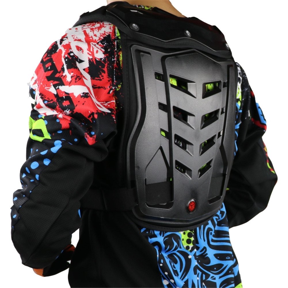 цена на Motorcycle Chest Protector Armadura Motocross Back Pads Armor Vest Racing AM0658 Protective Body Guards Chaquetas Jaqueta Armour