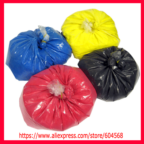 (1kgx4bags) kcmy color toner powder compatible for Ricoh AFICIO CL3500N, Lanier LP221C, CLP22 refill color toner free shipping powder for ricoh ipsio c 221 dn for lanier spc222sf for ricoh aficio spc 240 sf oem counter powder lowest shipping