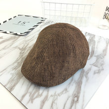 New Autumn Winter Casual  Beret Hat British Style Cap Lvy Caps Newsboy Hats For Men And Women