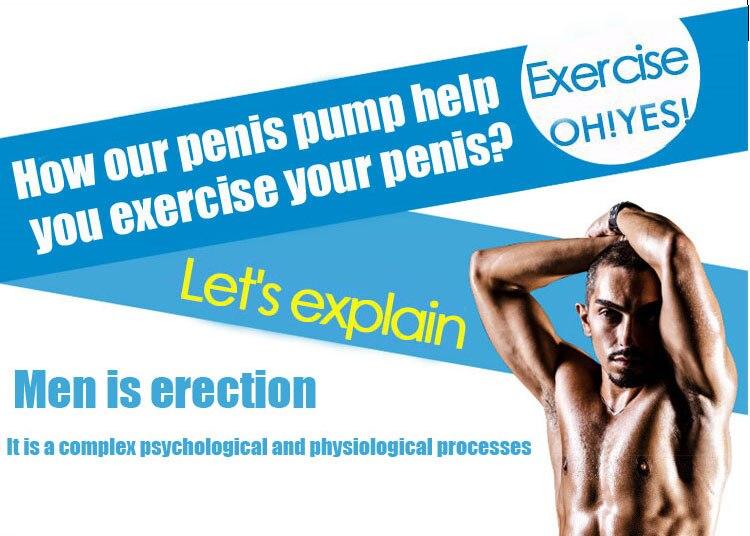 Penis Pump Penis Enlargement Vacuum Pump Penis Extender Sex Toys Penis Enlarger Extension Adult Sexy Product for Men proextender 7