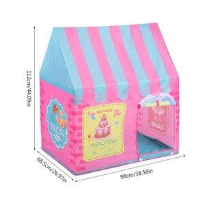 Image 3 - ילדים צעצועי אוהלי ילדים לשחק אוהל ילד ילדה נסיכת טירה מקורה חיצוני ילדים בית לשחק כדור בור בריכת תיאטרון עבור ילדים
