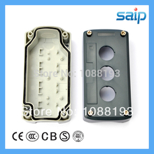 3 Holes High-tension Insulation Push Button Box 5.39″*2.68″*2.13″ IP65 Box SBX03
