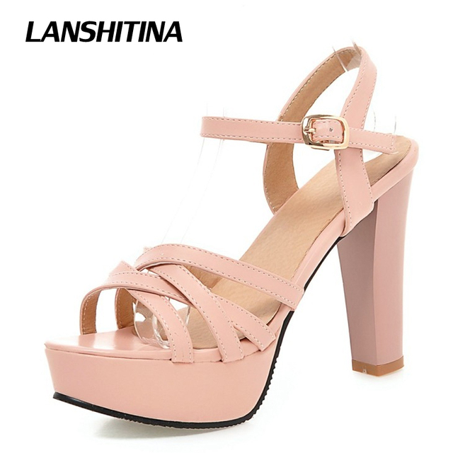 les femmes haut talon sandales - chaussures à plate - sandales forme partie sexy talons. d81de3