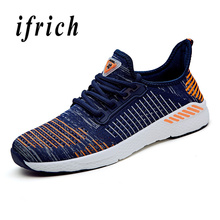 Couples Running Shoes Size 36-48 Sport For Men Summer Women Sneaker Blue Red Walking Sneakers Unisex
