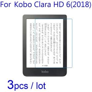 For Kobo Clara HD 6 2018/Forma E-Book LCD Screen Protectors Guard,3pcs/lot Soft Clear/Matte/Nano Anti-Explosion Protective Films(China)