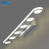Modern White LED Wall Lamps in loft Bathroom Makeup table Vanity mirror Wall light Sconces loft style led indoor Light Fixtures