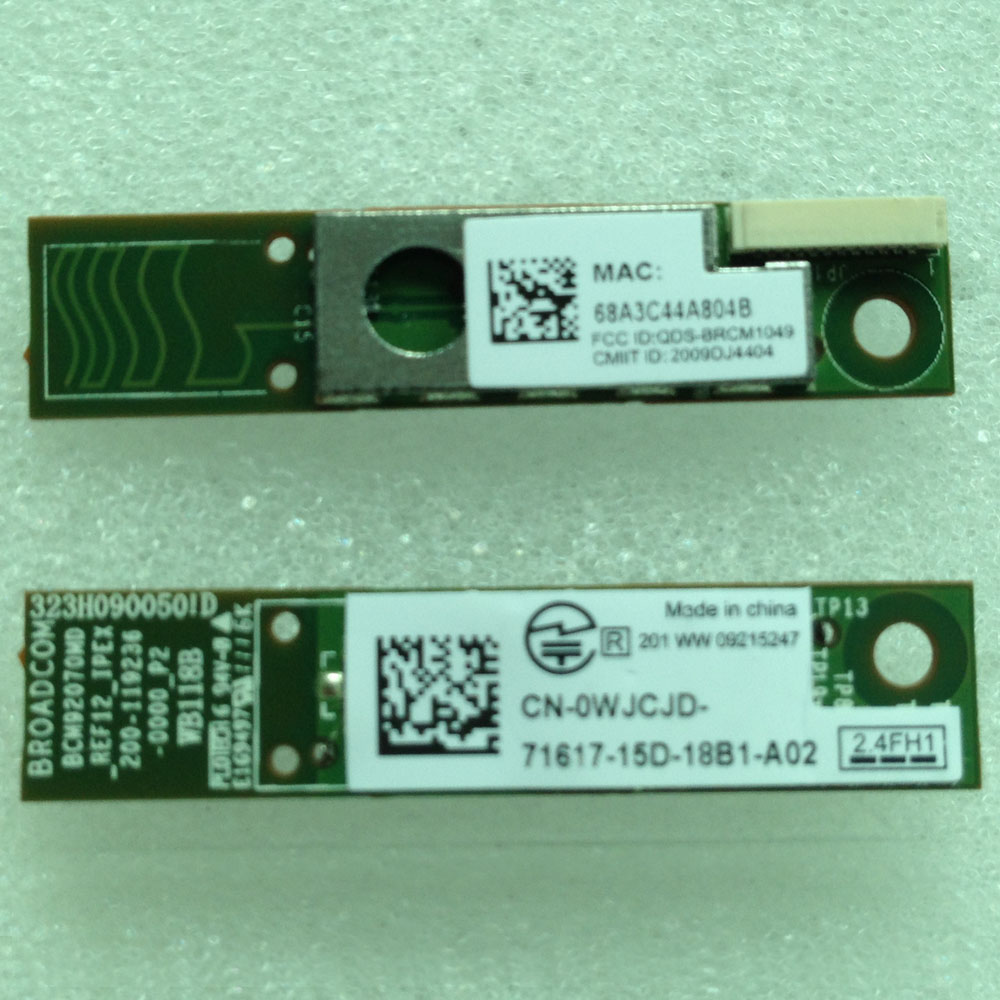 وحدة بلوتوث للكمبيوتر المحمول لسلسلة خط العرض E4310 E6220 E6510 M11X M6600 ، D P/N CN-0WJCJD