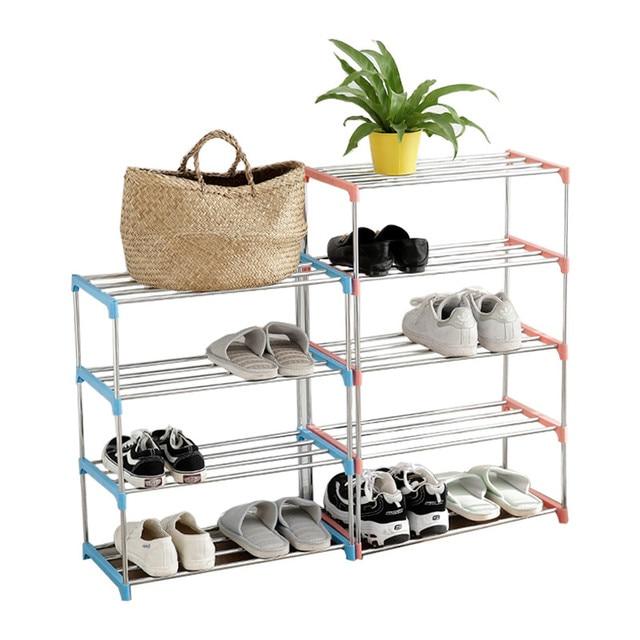 Hogar Deocr Zapatero Zapatos Bastidores Almacenamiento De Gran Capacidad Muebles Para El Hogar Diy Instalacion Gabinete Dormitorio Zapatos Estante