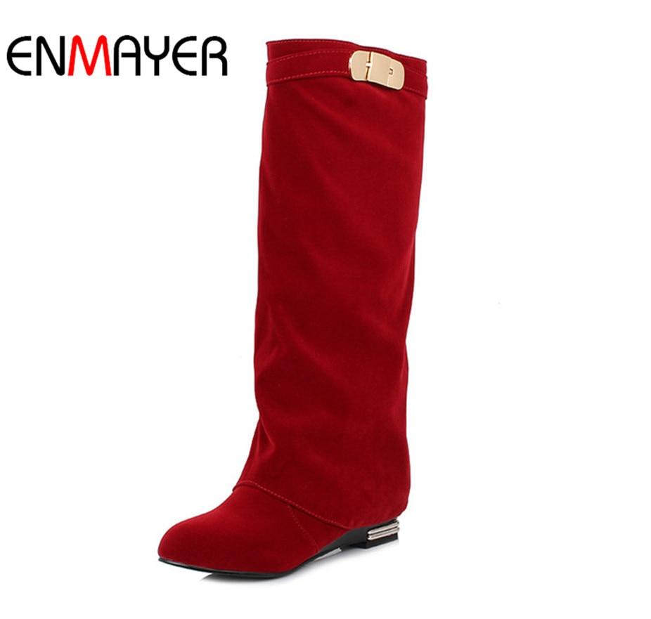 ENMAYER Western Fashion British Style Straight Sets Fot Fashion Sexy - Damskor