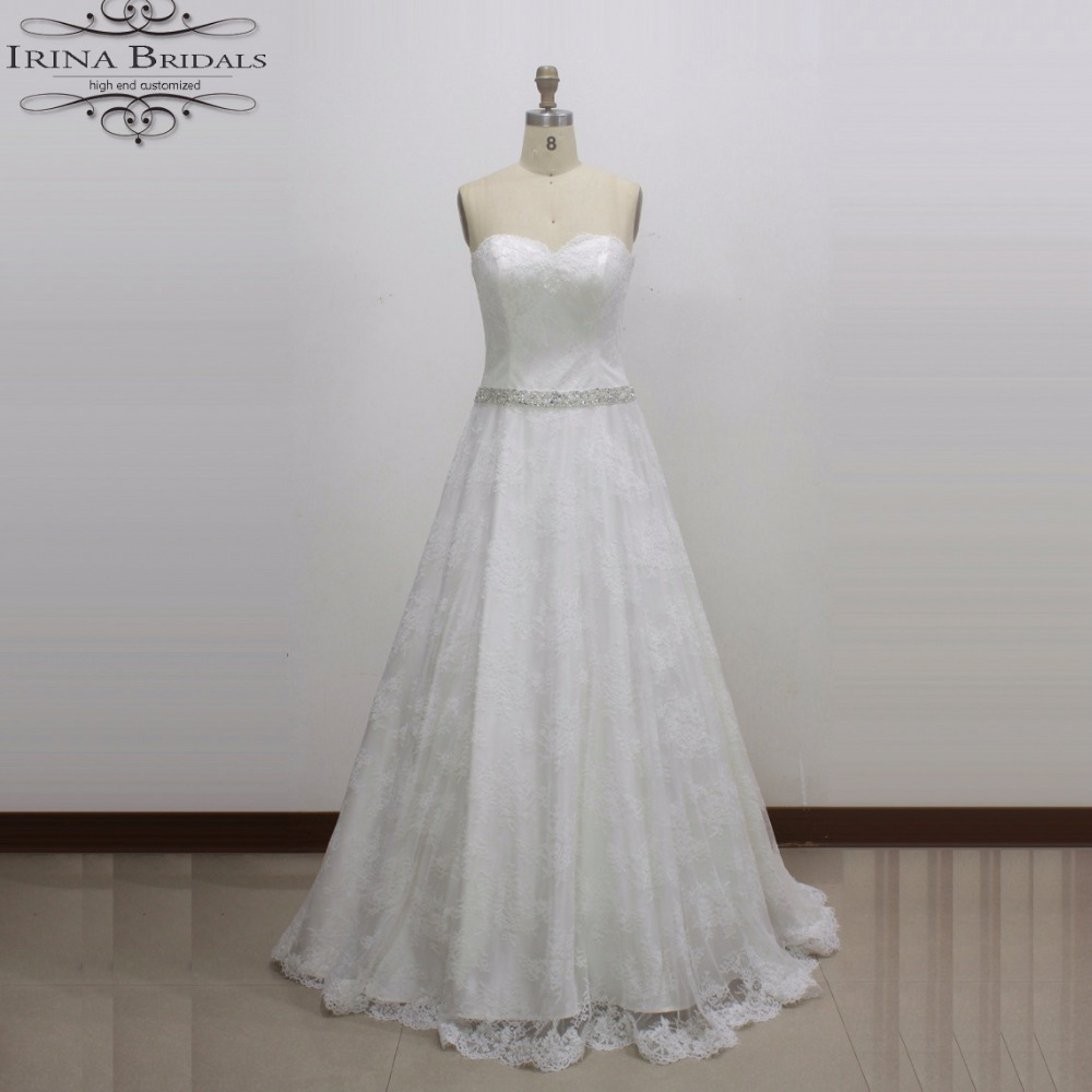 Compare prices on white bridesmaids dresses online shoppingbuy real photos strapless lace crystal belts white bridesmaid dresses for weddingchina ombrellifo Image collections