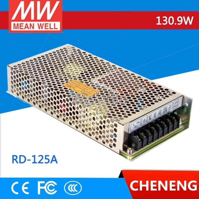 MEAN WELL RD-125A 131W 5V 12V RD-125B 133W 5V 24V Dual Output Switching Power Supply рфс p710306 133w